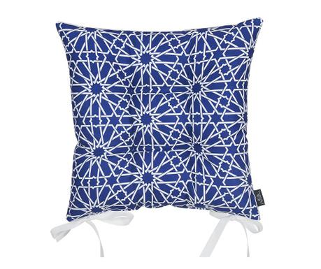 Възглавница за сядане Wheaton Dark Blue 37x37 см