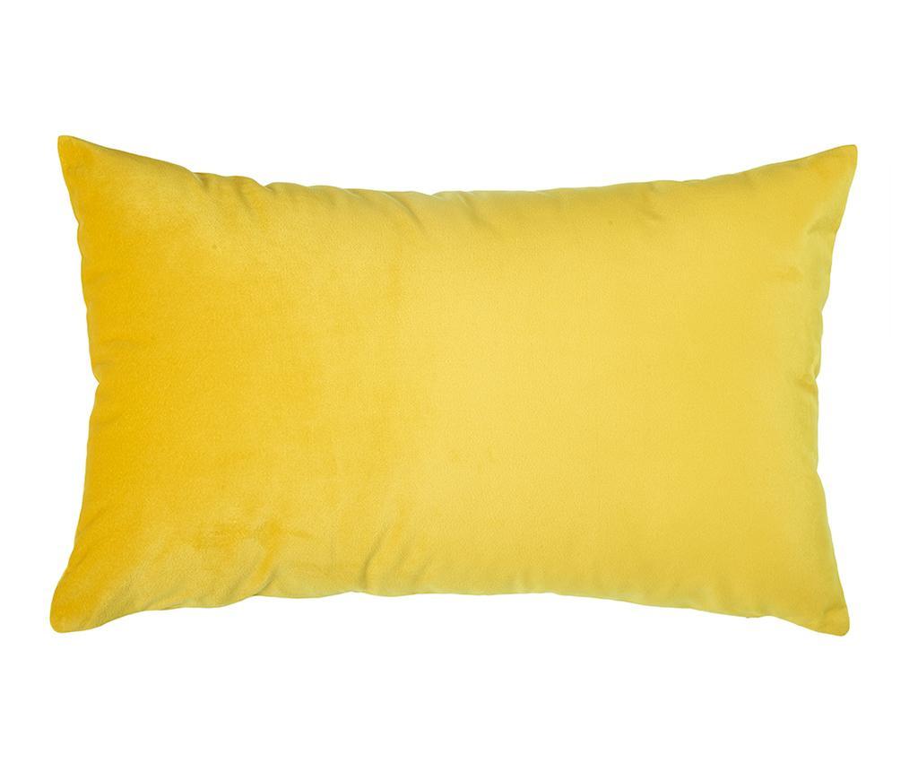 Fata de perna Leafen Yellow 36x55 cm