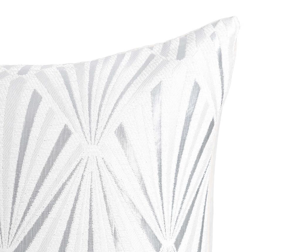Okrasna blazina Metallic Glam White 45x45 cm
