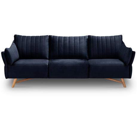 Kauč trosjed Elysee Navy Blue