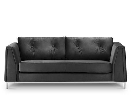 Kauč trosjed Amour Dark Grey