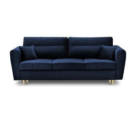 Rozkładana kanapa trzyosobowa Remy Royal Blue