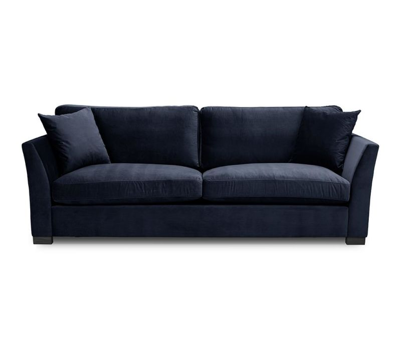 Canapea 3 locuri Times Navy Blue
