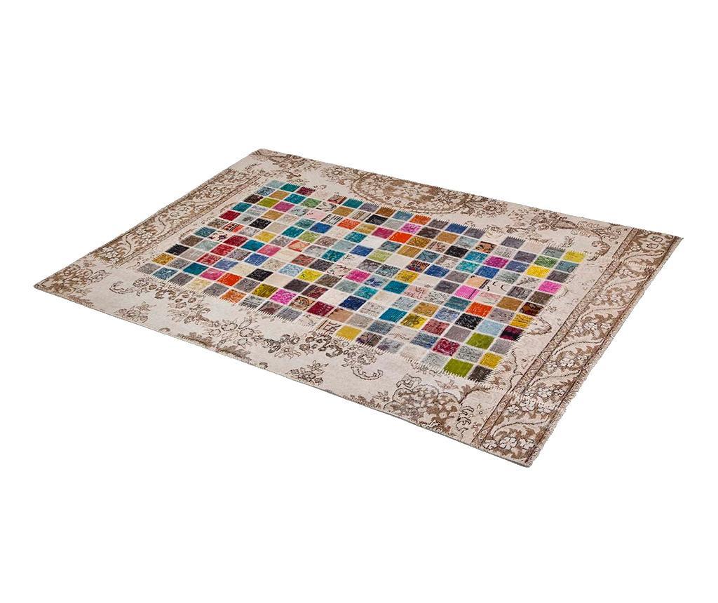 Mosaic Light Natural Szőnyeg 80x150 cm