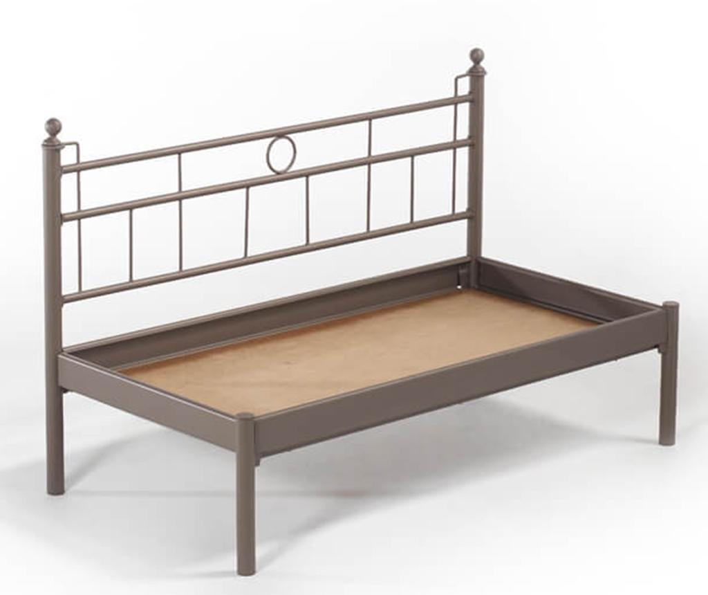 Canapea 2 locuri pentru exterior Mitas Brown