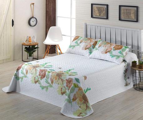 Zestaw pikowany na łóżko King Mia Beige