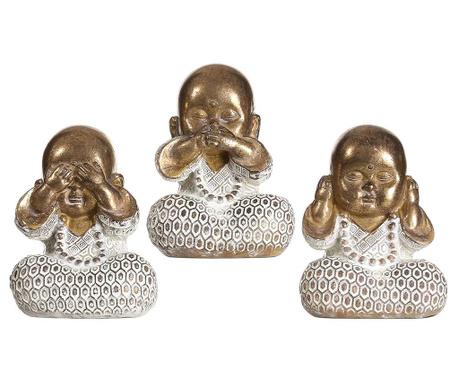Set 3 decoratiuni Buddha