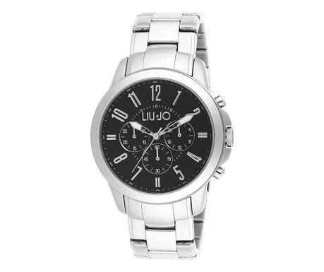 Pánské hodinky LIU JO Jet Silver Black