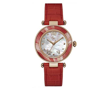 Dámské hodinky Guess Sport Lady Chic Red & Gold