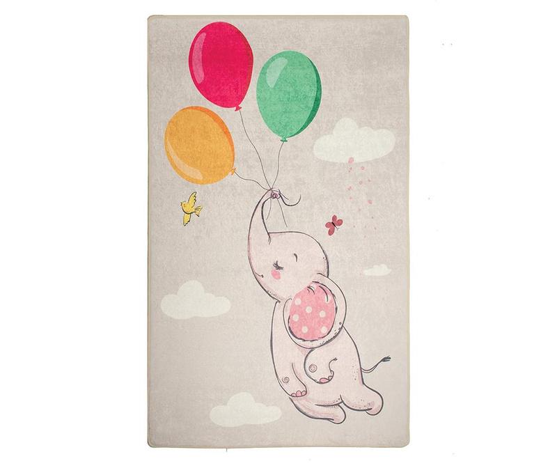 Preproga Balloons Grey 100x160 cm