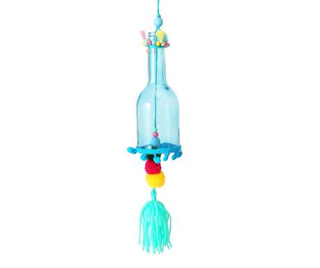 Висяща декорация Pompom Blue