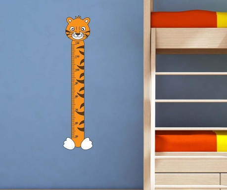 Samolepka na meranie výšky detí Tiger
