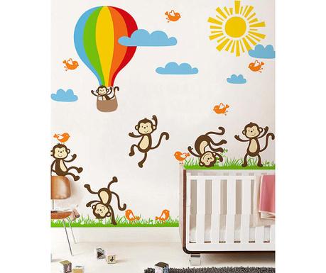 Nalepka Monkey Fun