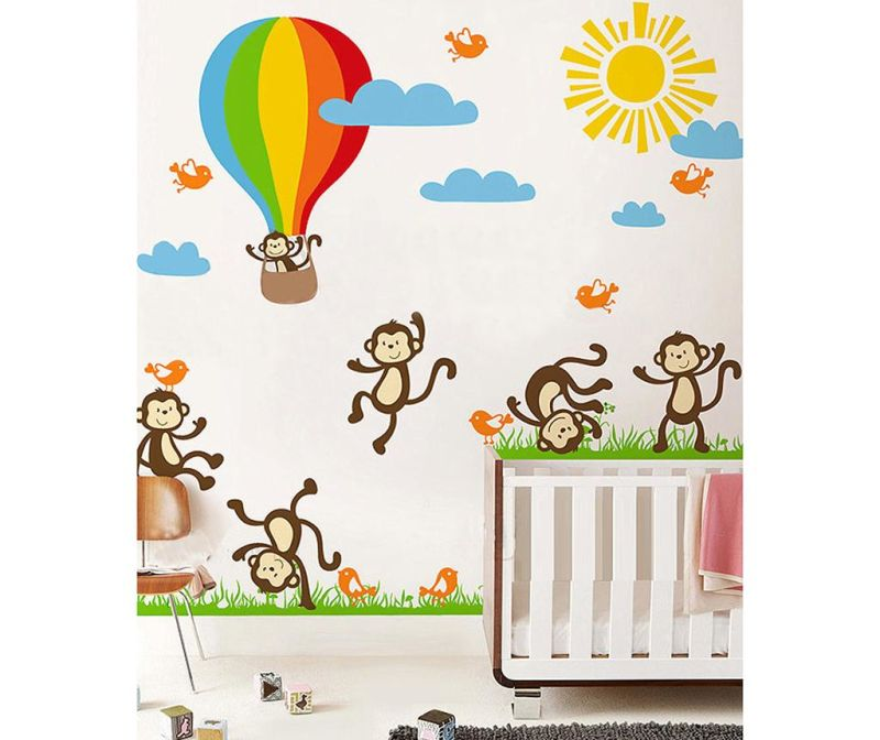 Samolepka Monkey Fun