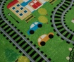 Tepih za igru Train 140x190 cm