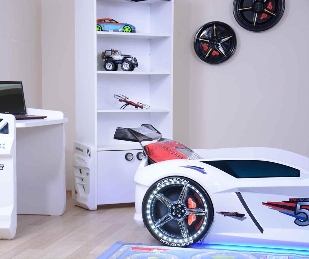 Cadru de pat pentru copii Speedy White