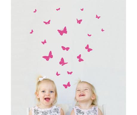 Set 21 nalepk Butterflies