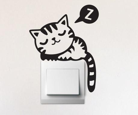 Sticker Sleepy Cat