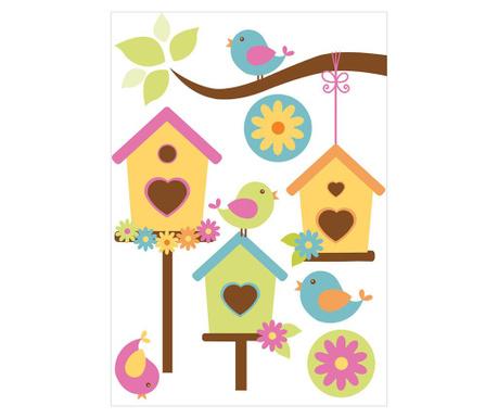 Samolepka Bird Houses