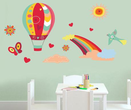 Samolepka Love Balloons