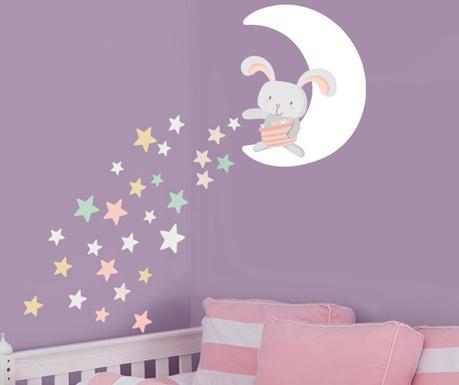 Nalepka Starry Bunny