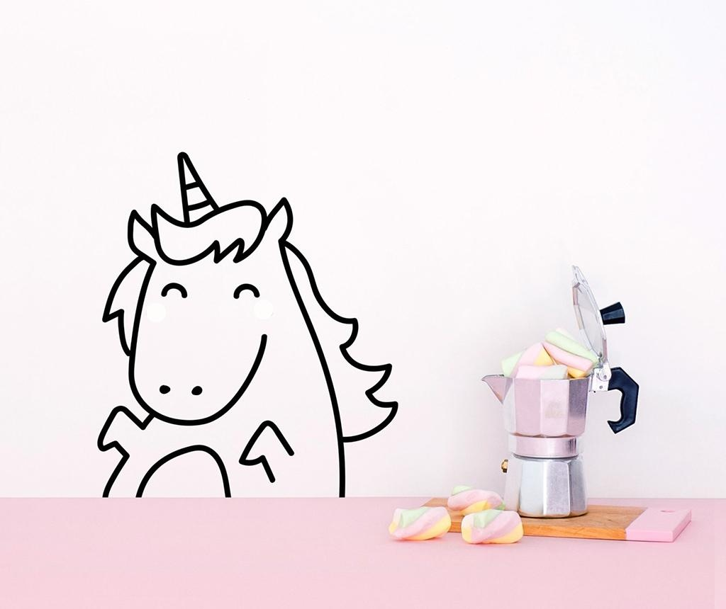 Nalepka Happy Unicorn