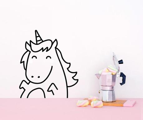 Samolepka Happy Unicorn