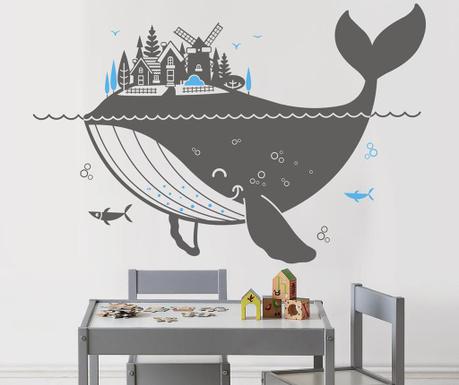 Nalepka Whale City