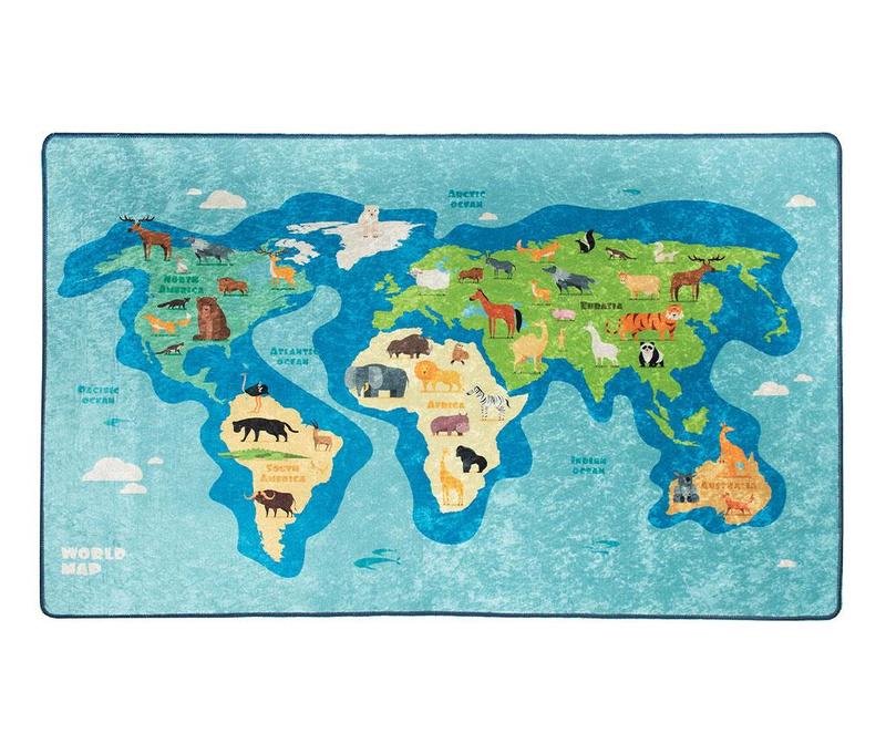 Covor Map 140x190 cm