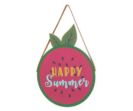 Dekoracja wisząca Happy Summer Watermelon