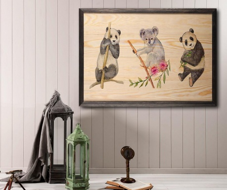Obraz Bears 35x50 cm