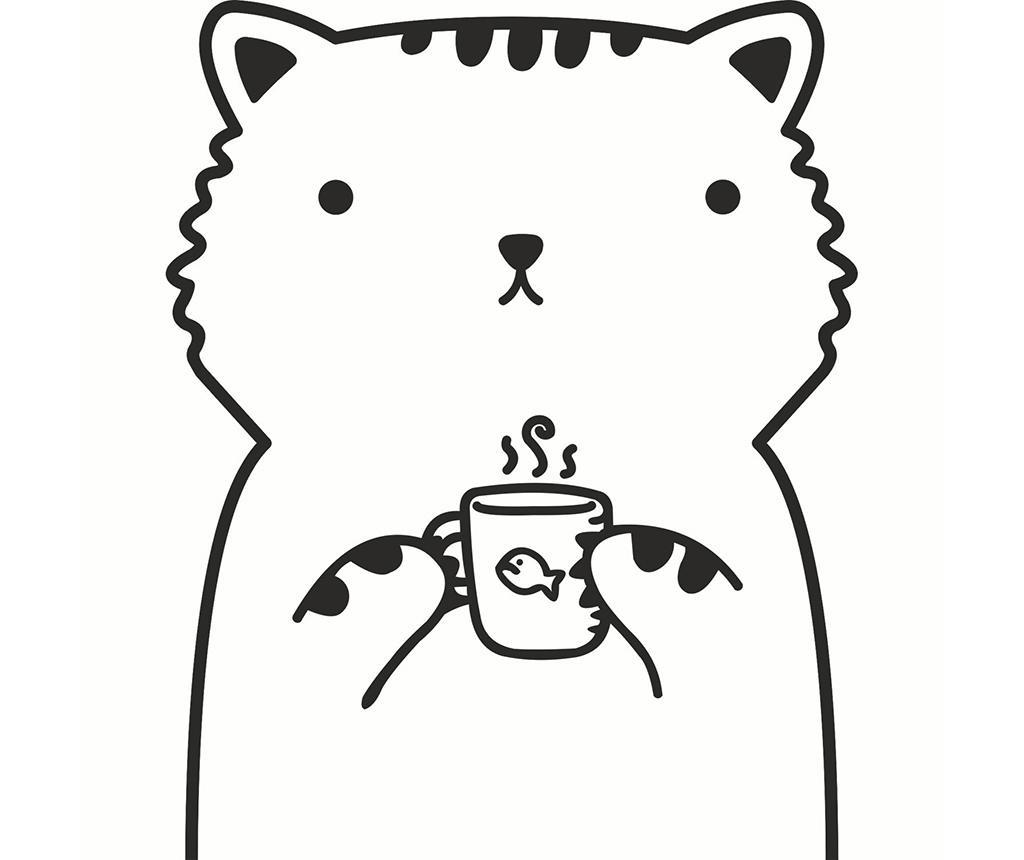 Coffee Cat Matrica