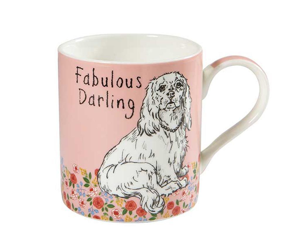 Šalica Fabulous Darling 350 ml