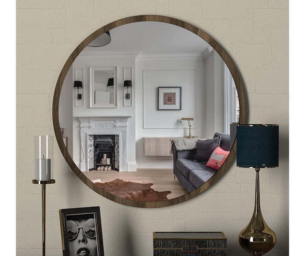Zrcalo Glob Walnut