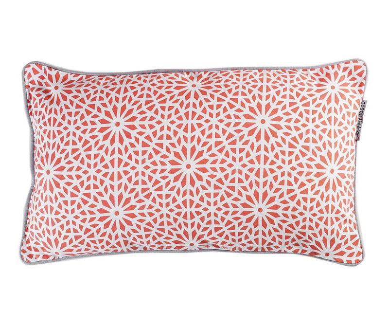 Perna decorativa Tunis Coral 30x50 cm