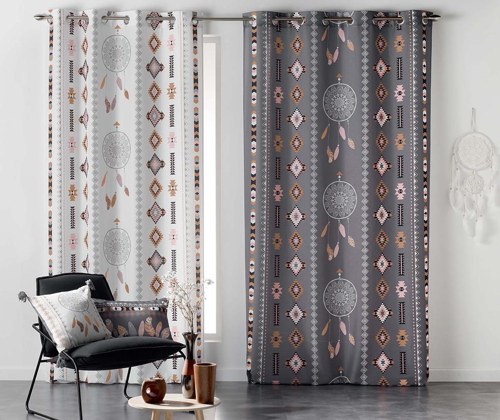 Ukrasni jastuk Indila Charcoal & Nature 30x50 cm