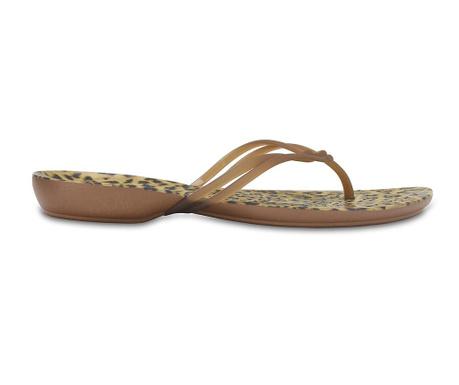 Flip flops dámske šľapky Crocs Leopard