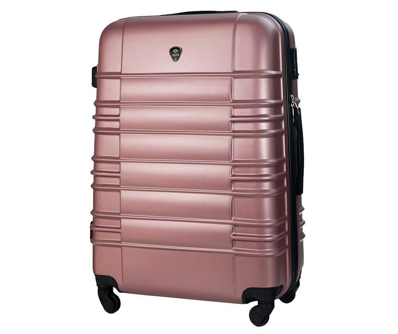 Kovček na kolesih Maeve Pink 85 L