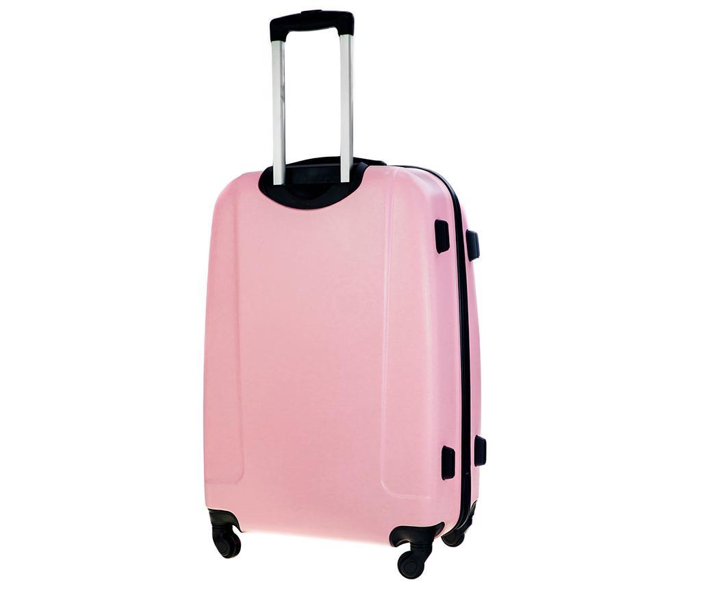 Kovček na kolesih Steady Pink 45 L