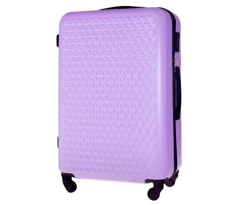 Kovček na kolesih Arrow Purple 48 L