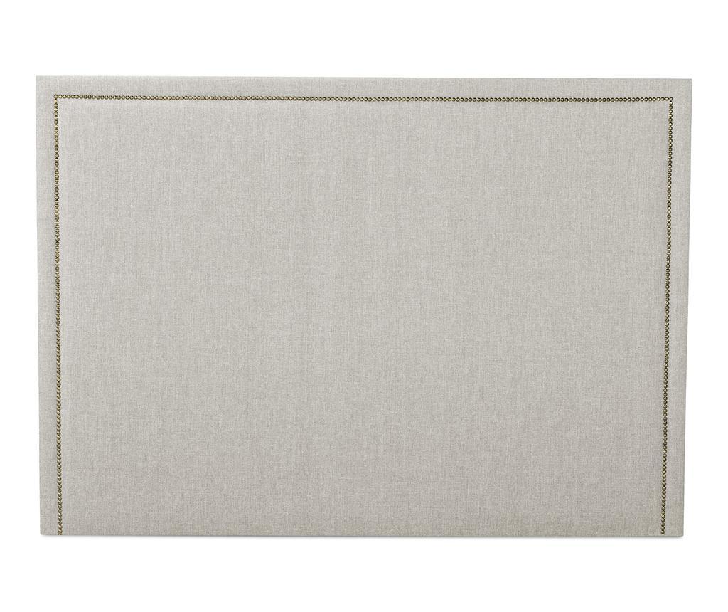 Posteljno vzglavje Venetta Straight Beige 130x185 cm