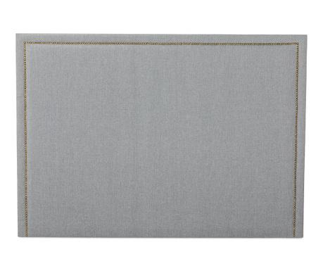 Tablie de pat Venetta Straight Grey 130x185 cm