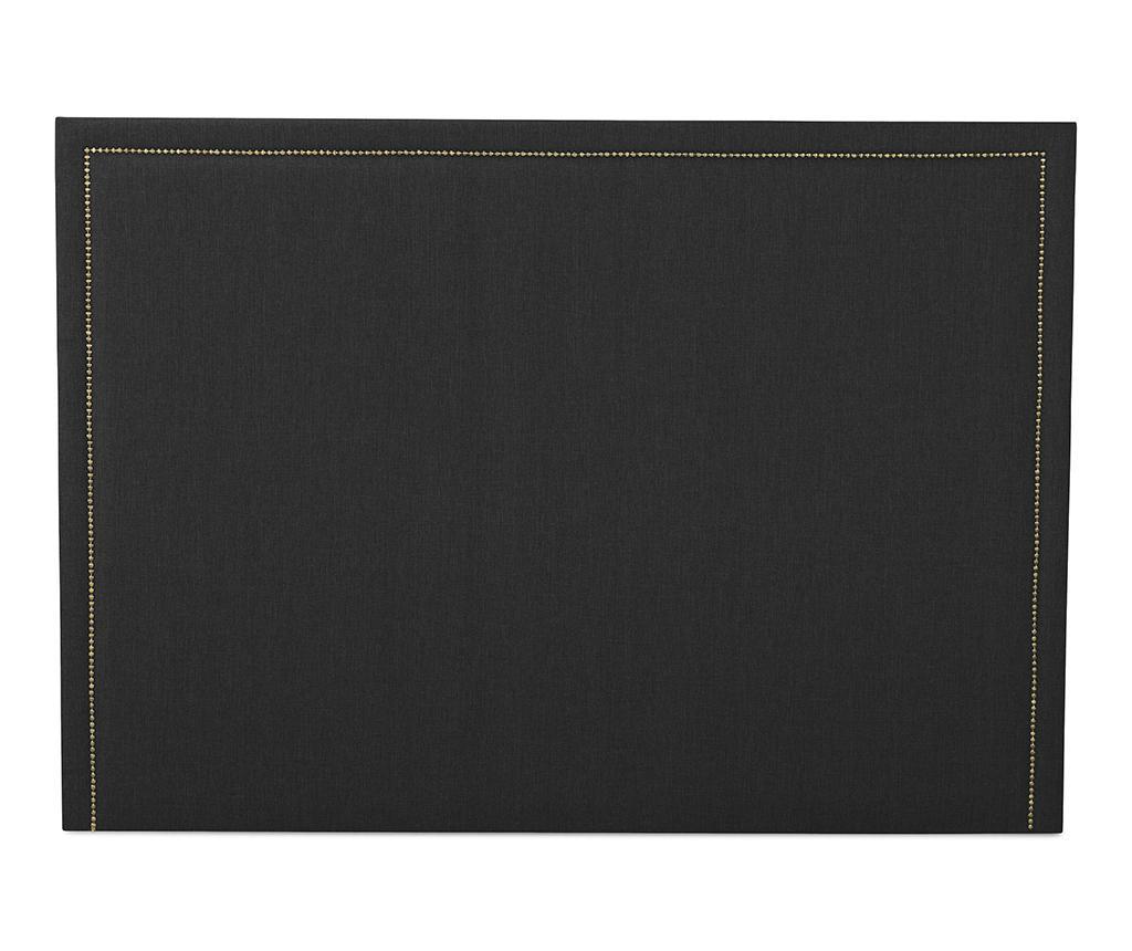 Tablie de pat Venetta Straight Dark Grey 130x185 cm