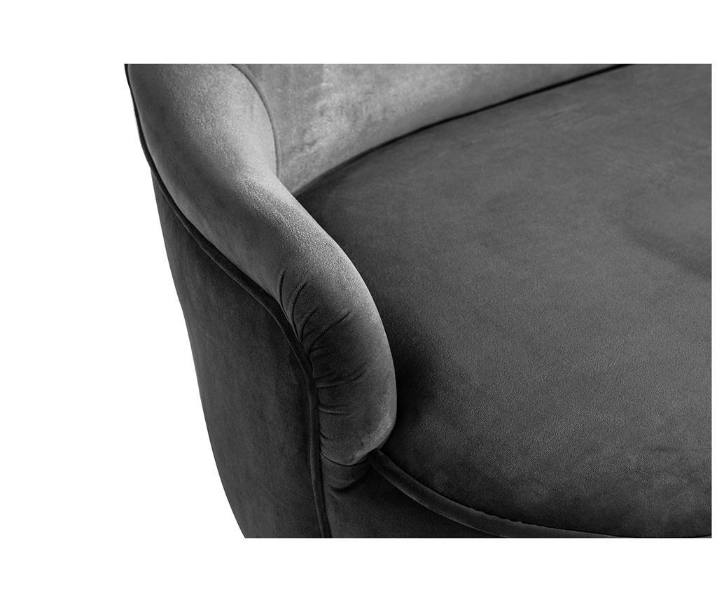 Kauč diYana Soft Dark Grey 3H