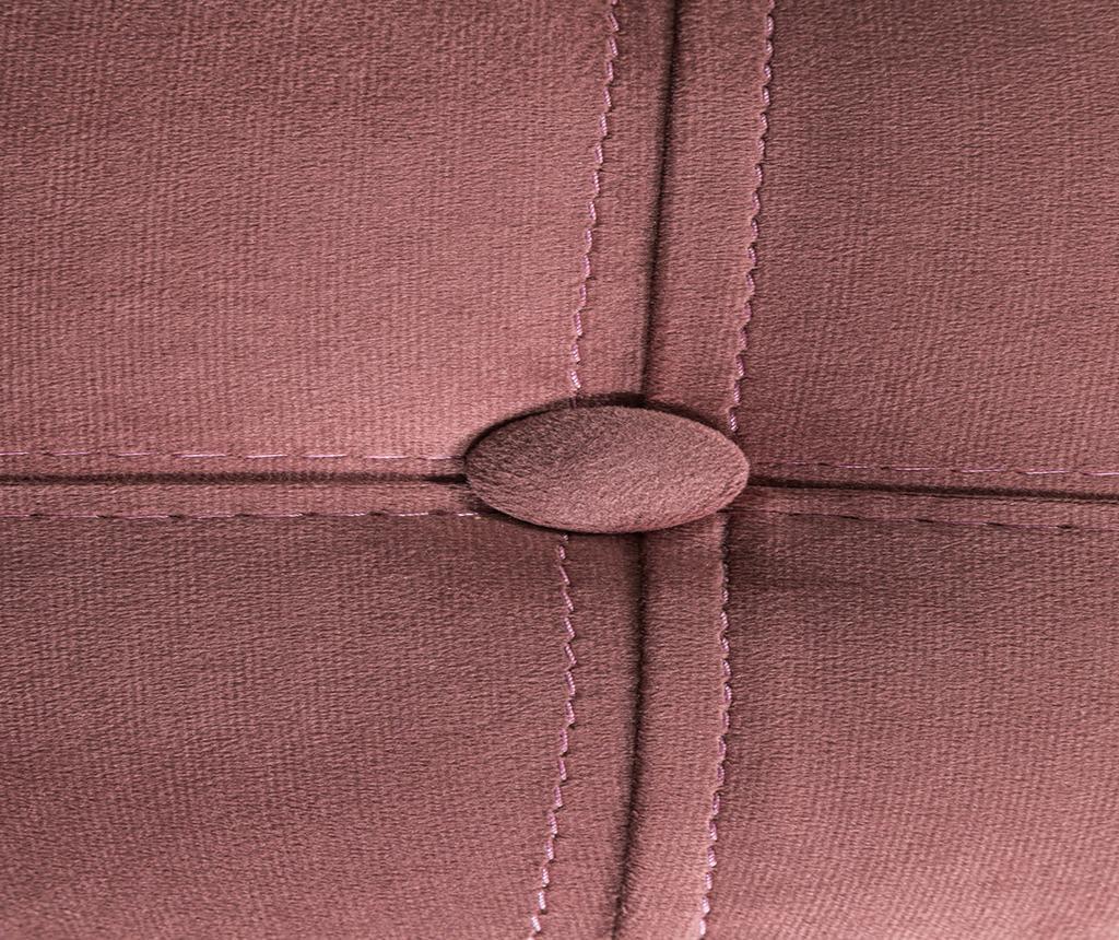Taburet pentru picioare diYana Rust Pink