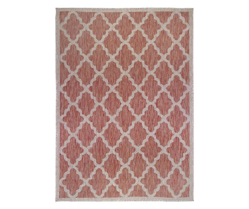 Preproga Padua Red Beige 60x230 cm