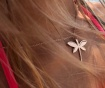 Верижка с висулка Libellule Rose Gold