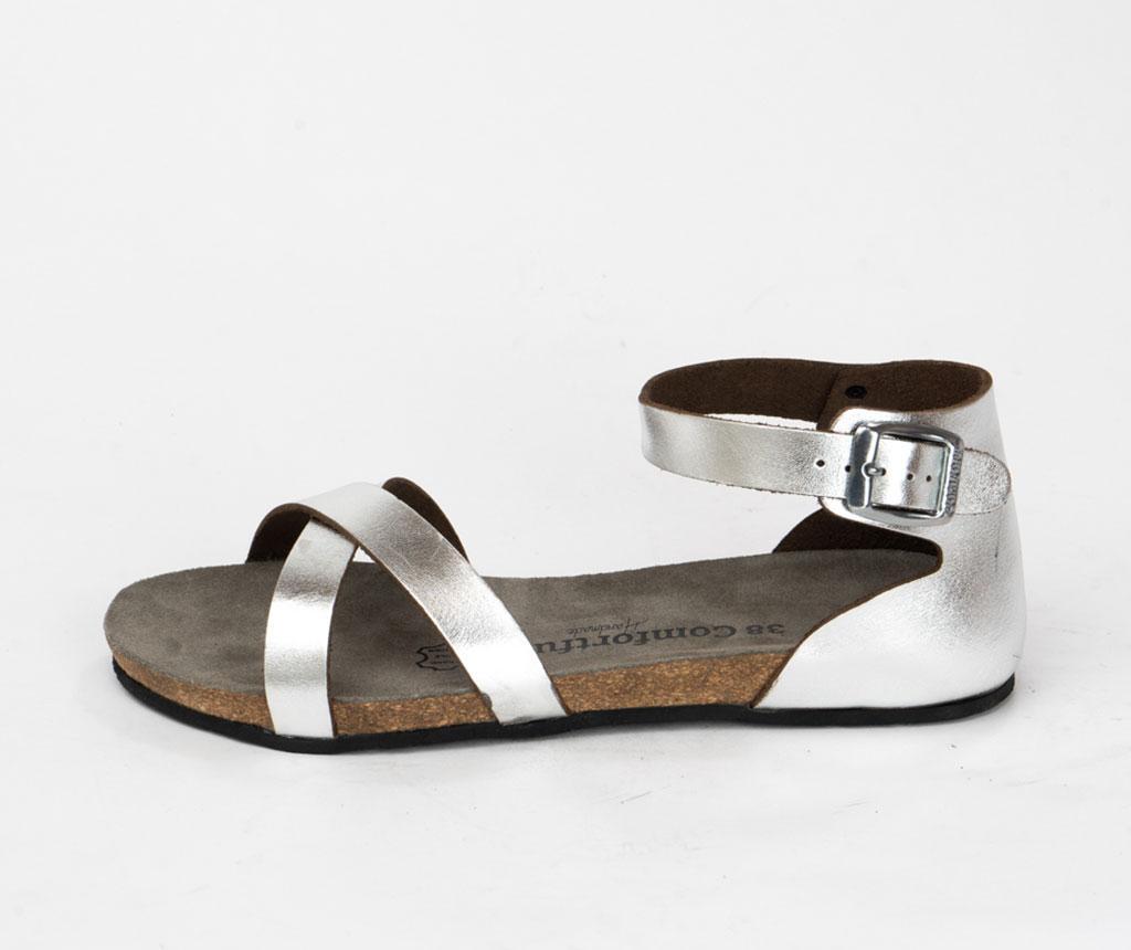 Sandale dama Milano Silver 38