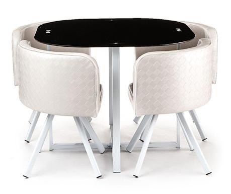 Set - miza in 4 stoli New