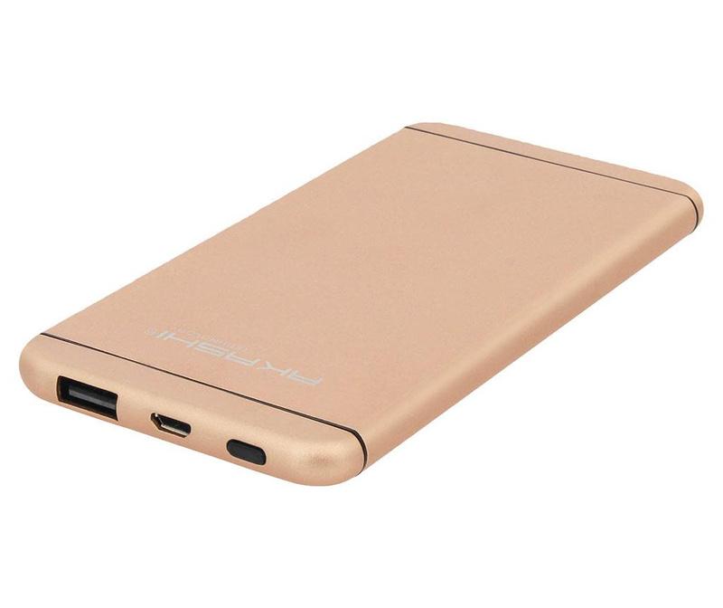 Baterie externa Akashi Ultra Slim Gold